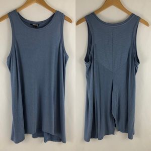 Nic + Zoe Split Back Sleeveless Top